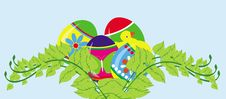 Free Easter Card Concept Royalty Free Stock Photo - 17745405