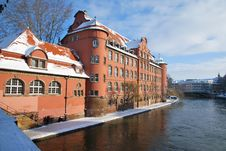 Free Winter In Strasbourg Town Royalty Free Stock Images - 17745469