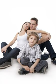 Free Family Lifestyle Portrait Royalty Free Stock Images - 17745799