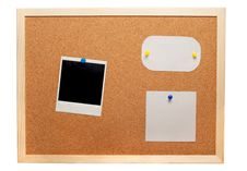 Free Blank Instant Photo And Note Papers Stock Photos - 17745813