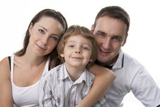 Free Family Lifestyle Portrait Stock Photography - 17745912