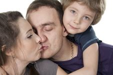 Free Family Lifestyle Portrait Stock Image - 17745981