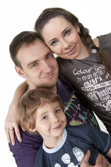 Free Family Lifestyle Portrait Royalty Free Stock Photography - 17746047