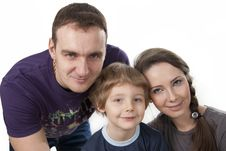 Free Family Lifestyle Portrait Royalty Free Stock Photography - 17746097