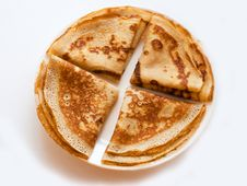 Free The Four Pancakes Stock Images - 17746144