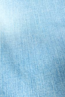 Jeans Texture Royalty Free Stock Image