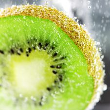 Free Kiwifruit Pulp Close Royalty Free Stock Photos - 17746288