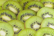 Free Kiwi Slices Stock Photo - 17746400