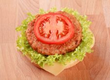 Free Cheeseburger Stock Image - 17746631