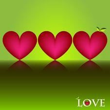 Free Hearts Royalty Free Stock Photos - 17746898