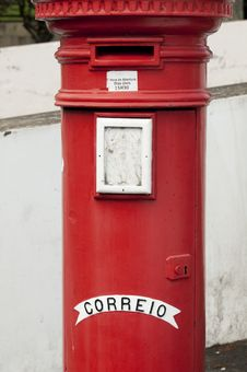 Free Red Mail Box Stock Image - 17747671