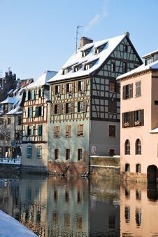 Free The Reflection Of Strasbourg Stock Image - 17748331