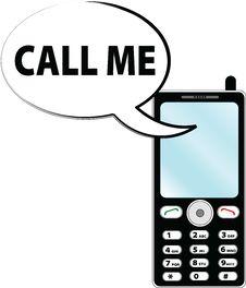 Free Call Me Stock Photos - 17748593
