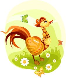 Free Easter Card Stock Images - 17748674
