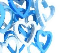 Free Background With Hearts Stock Photo - 17748850