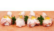 Free Raw Chicken Legs Stock Photo - 17749100