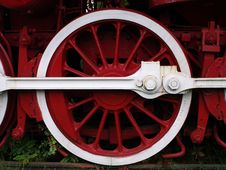 Free Old Train Wheel Stock Photography - 17749472