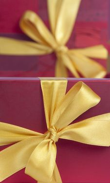 Free Gift Box Background Stock Photography - 17749512