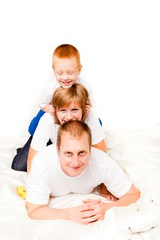 Free Happy Family Royalty Free Stock Photos - 17749708