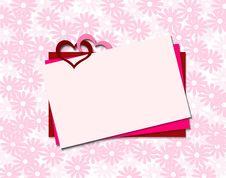 Free Valentine Card Stock Photography - 17749812