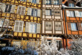 Free Snow On Houses Of Strasbourg During Winter Stock Image - 17750021