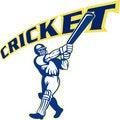 Free Cricket Sports Player Batsman Stock Image - 17750771