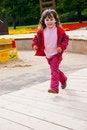Free Little Girl Running Royalty Free Stock Photos - 17755948