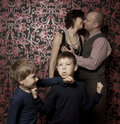 Free Funny Family Portrait Royalty Free Stock Images - 17757889