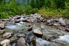 Free Mountain Stream Royalty Free Stock Image - 17750586
