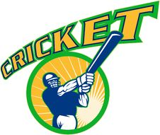 Free Cricket Batsman Batting Stock Image - 17750761