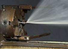 Free Lathe Royalty Free Stock Image - 17751336