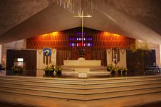 Free The Internal Structure Of The Church Royalty Free Stock Photos - 17752208