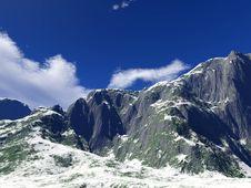 Free Winter Mountains Stock Image - 17752901