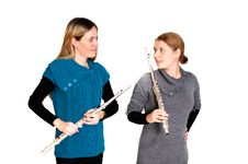 Free Transverse Flute Stock Photography - 17753432