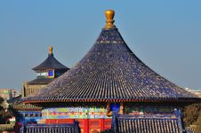Free Temple Of Heaven ,Beijing,China Royalty Free Stock Photo - 17753515