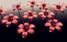 Free Futuristic Flowers Stock Image - 17754301
