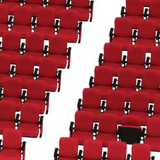 Free Red Chairs Stock Photos - 17754453