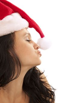 Coquette Santa Royalty Free Stock Images