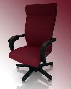 Free Office Armchair Royalty Free Stock Photo - 17754565