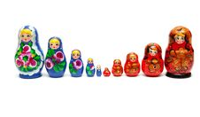 Free Russian Nesting Dolls Royalty Free Stock Images - 17755109