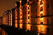 Hafencity Hamburg Royalty Free Stock Photo