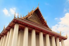 Free Thai Temple Pagoda And Roof Top Decoration Stock Photography - 17755762