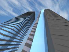 Free Skyscraper Stock Images - 17756404