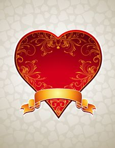 Free Red  Heart, Royalty Free Stock Photos - 17756548
