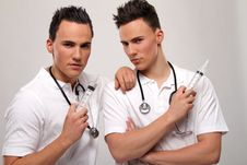 Free Twin Doctors Stock Photos - 17756983