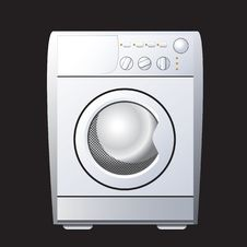 Free Washing Machine. Royalty Free Stock Photo - 17757215