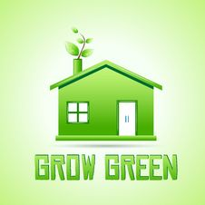 Free Grow Green Royalty Free Stock Photo - 17757745