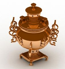 Free Samovar Stock Photography - 17757802