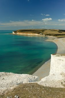 Bay At Seven Sisters Royalty Free Stock Photography