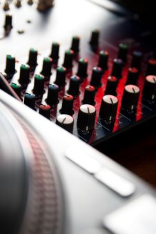 Free Professional Sound Mixer Stock Images - 17758214